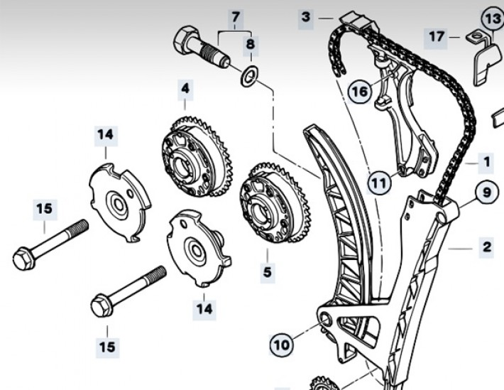 technical n42 timing chains. Black Bedroom Furniture Sets. Home Design Ideas
